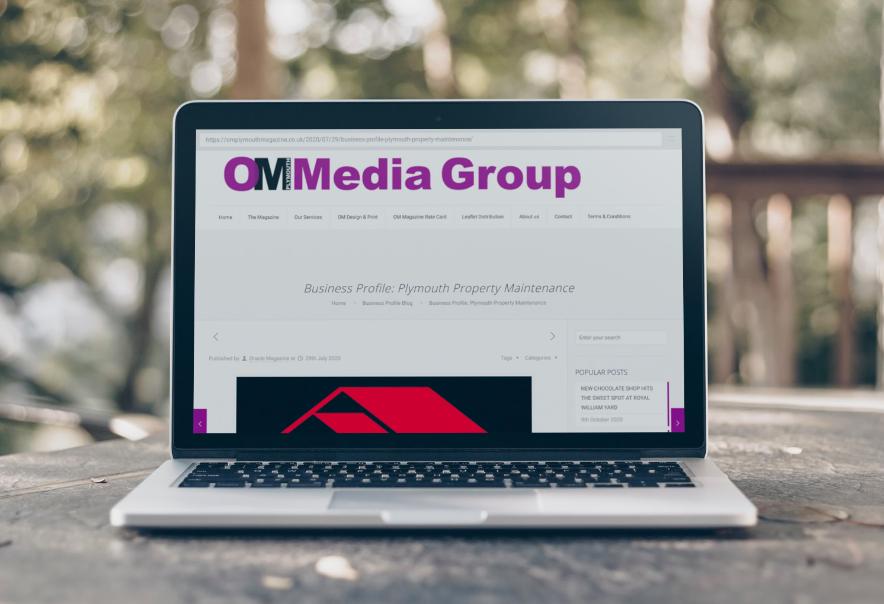 OM Media Plymouth Property Maintenance